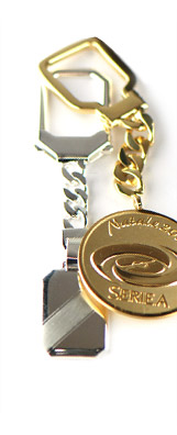 Keyrings<br />in gold and silver