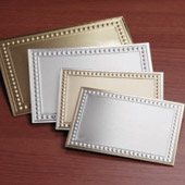 GOLD AND SILVER PLATES